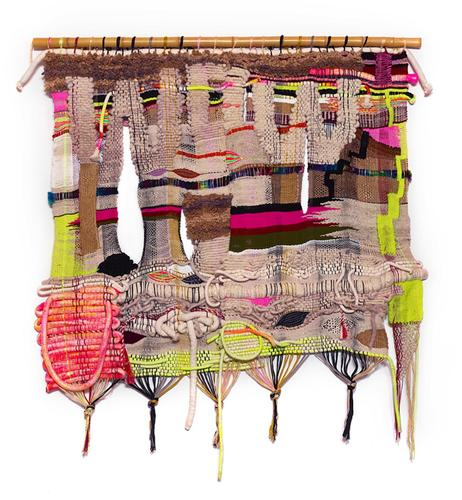 Terri Friedman, WOW, 2016, Wool, acrylic, cotton f...