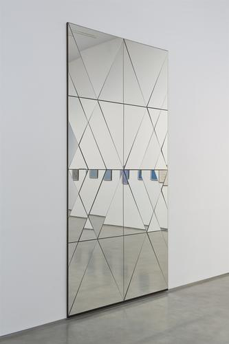 Claudia Wieser, Unttled, 2013, Mirror on MDF,...