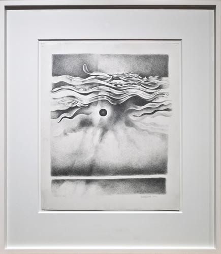 Lee Bontecou, Untitled, 1990, Graphite on paper, 1...