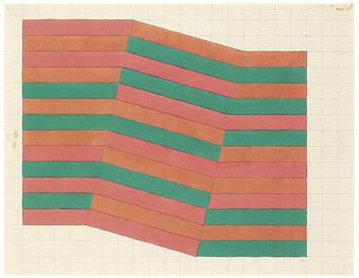 Frank Stella (b. 1936), Composition, 1965, Colored...