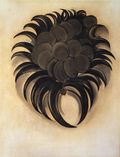 Georgia O'Keeffe, Indian Beads, 1934, Pastel...