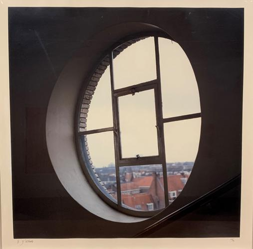 Amsterdam From Ten Windows 1991 Photograph printed...
