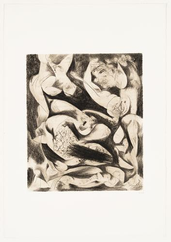 Untitled, ca. 1944 Engraving and drypoint Sheet: 2...