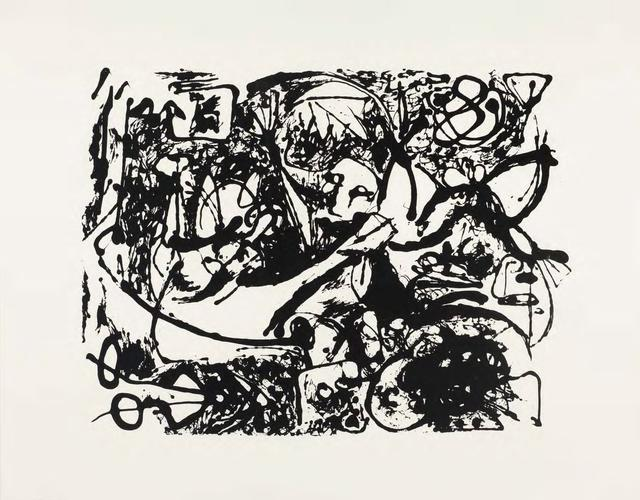 Silkscreen (Set of 6: 1 of 6), 1951 Ink on paper S...