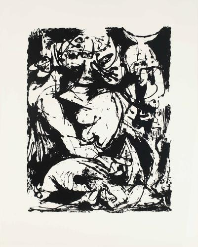 Silkscreen (Set of 6: 4 of 6), 1951 Ink on paper S...