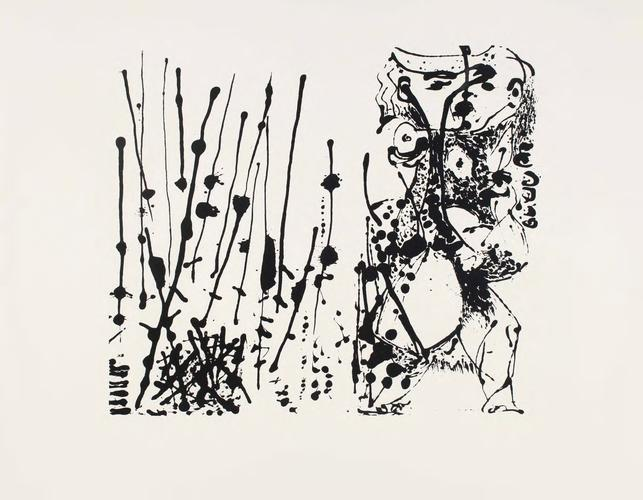 Silkscreen (Set of 6: 5 of 6), 1951 Ink on paper S...