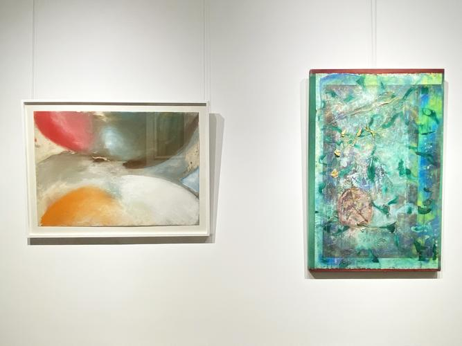 Color and shape: frank bowling, ed clark and sam g...