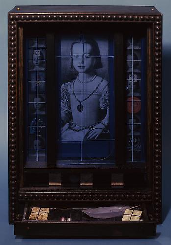 Joseph Cornell (1903-1972) Medici Princess c. 1950...