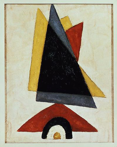 Marsden Hartley (1877-1943) Provincetown Abstracti...