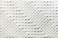 Enrico Castellani (b. 1930) Superficie bianca, 200...