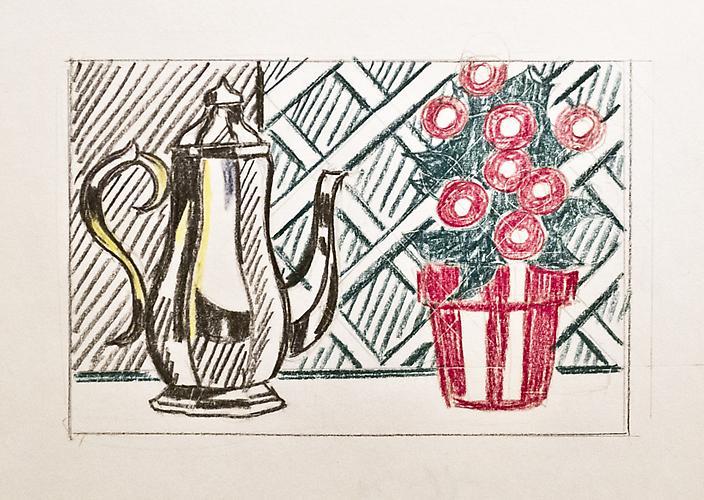 Roy Lichtenstein (1923-1997) Still Life with Coffe...