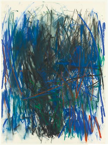 Joan Mitchell (1925-1992) Untitled, 1979 Pastel on...