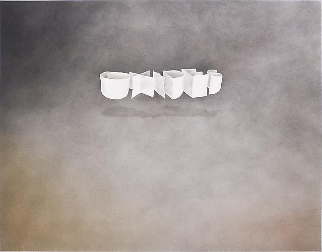 Edward Ruscha (b. 1937) Oxides, 1971 Gunpowder and...