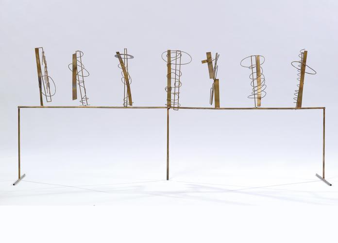 Fausto Melotti, Tema e Variazioni XI, 1981 (1984),...