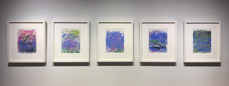 Joan Mitchell,Untitled (Five pastels), 1983,...