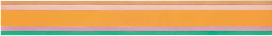 Kenneth Noland  Tout Fini, 1969 Oil on c...