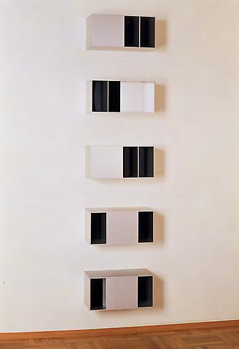 Donald Judd (1928-1994) Untitled (No. 87-19 A-E) 1...