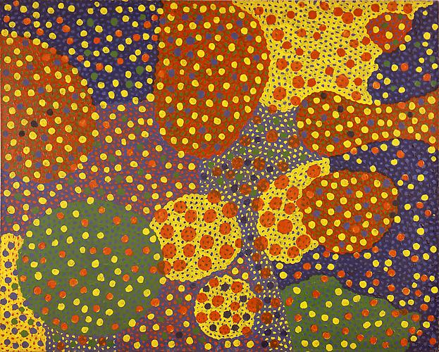 Yayoi Kusama (b. 1929) Untitled 1967 Oil on canvas...