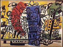 Fernand Léger (1881-1955) La grande parade...