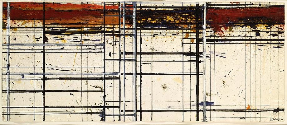 Brice Marden (b. 1938) Masking Drawing No. 20 1983...