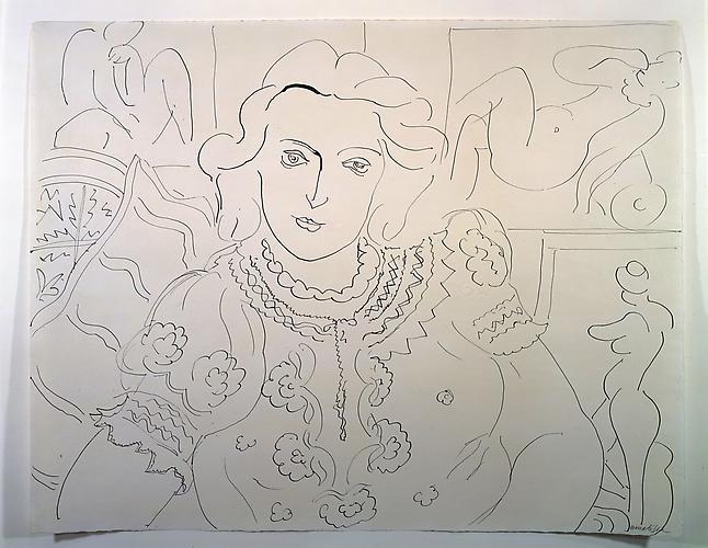 Henri Matisse (1869-1954) Femme assise dan l'a...