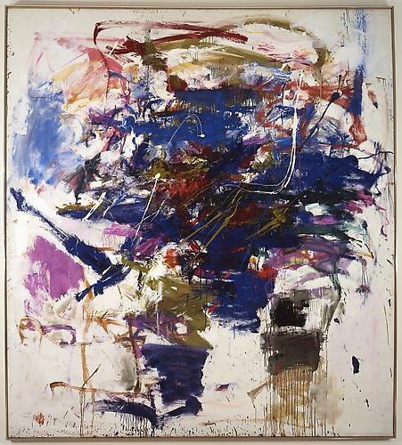 Joan Mitchell (1925-1992) Gentian Violet 1959 Oil...