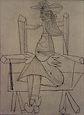 Pablo Picasso (1881-1973) Femme assise 1938 Ink on...