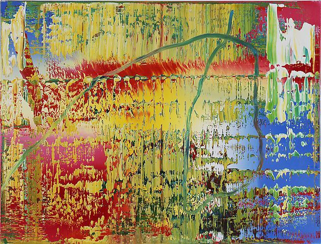 Gerhard Richter (b. 1932) Abstraktes bild (707-2)...