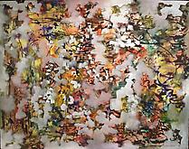 Ad Reinhardt (1913-1967) Number 11 (Flowers) 1949...