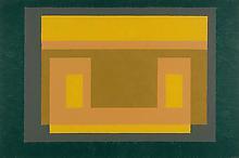 Josef Albers (1888-1976) Yellow Dominant 1948-52 O...