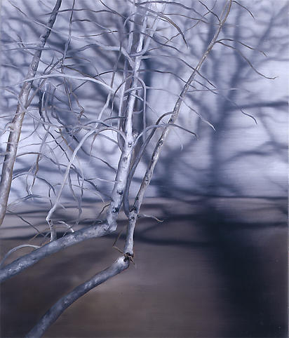 Karin Kneffel (b. 1957) Untitled #23 2008 Oil on c...
