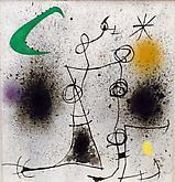 Joan Miró (1893-1983) Deux femmes dans la n...