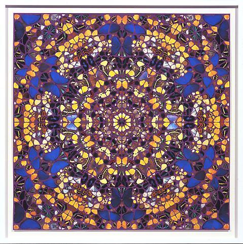 Damien Hirst (b.1965) Notre Dame 2007 Silkscreen p...