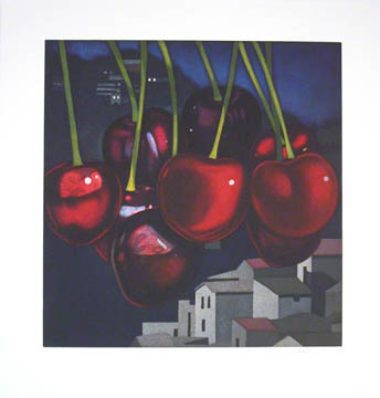 Cherries 2005 Etching and aquatint on Zerkall-B&uu...